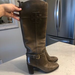 Beautiful Tory Burch Leather boots